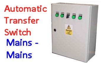 Automatic Transfer Panels (ATS) Mains - Mains
