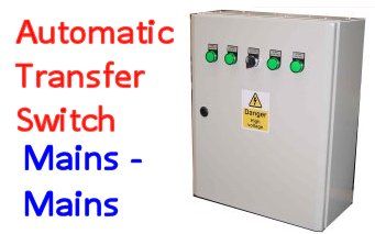 Automatic Transfer Panels (ATS) Mains - Mains