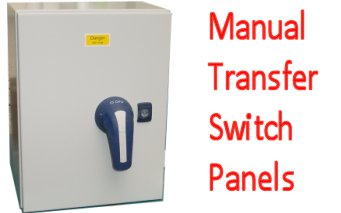 Three Phase Manual transfer switch