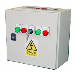 30A ATS 3 Phase Mains-Mains 400V, UVR Controlled, ABB Contactors