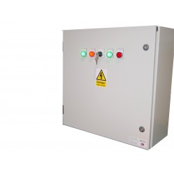 160A ATS 3 Phase Mains-Mains 400V, UVR Controlled, ABB Contactors