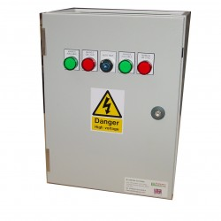 45A ATS 3 Phase Mains-Mains 400V, UVR Controlled, ABB Contactors