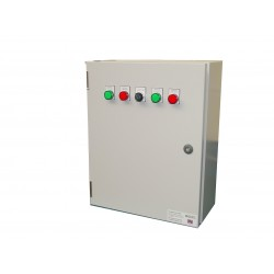125A ATS 3 Phase Mains-Mains 400V, UVR Controlled, ABB Contactors