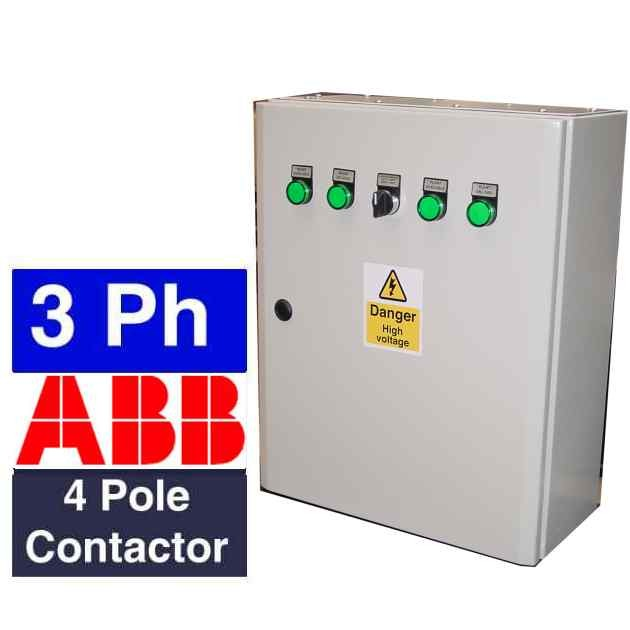 3 Phase Generator Ats Panel With Uvr Control System And