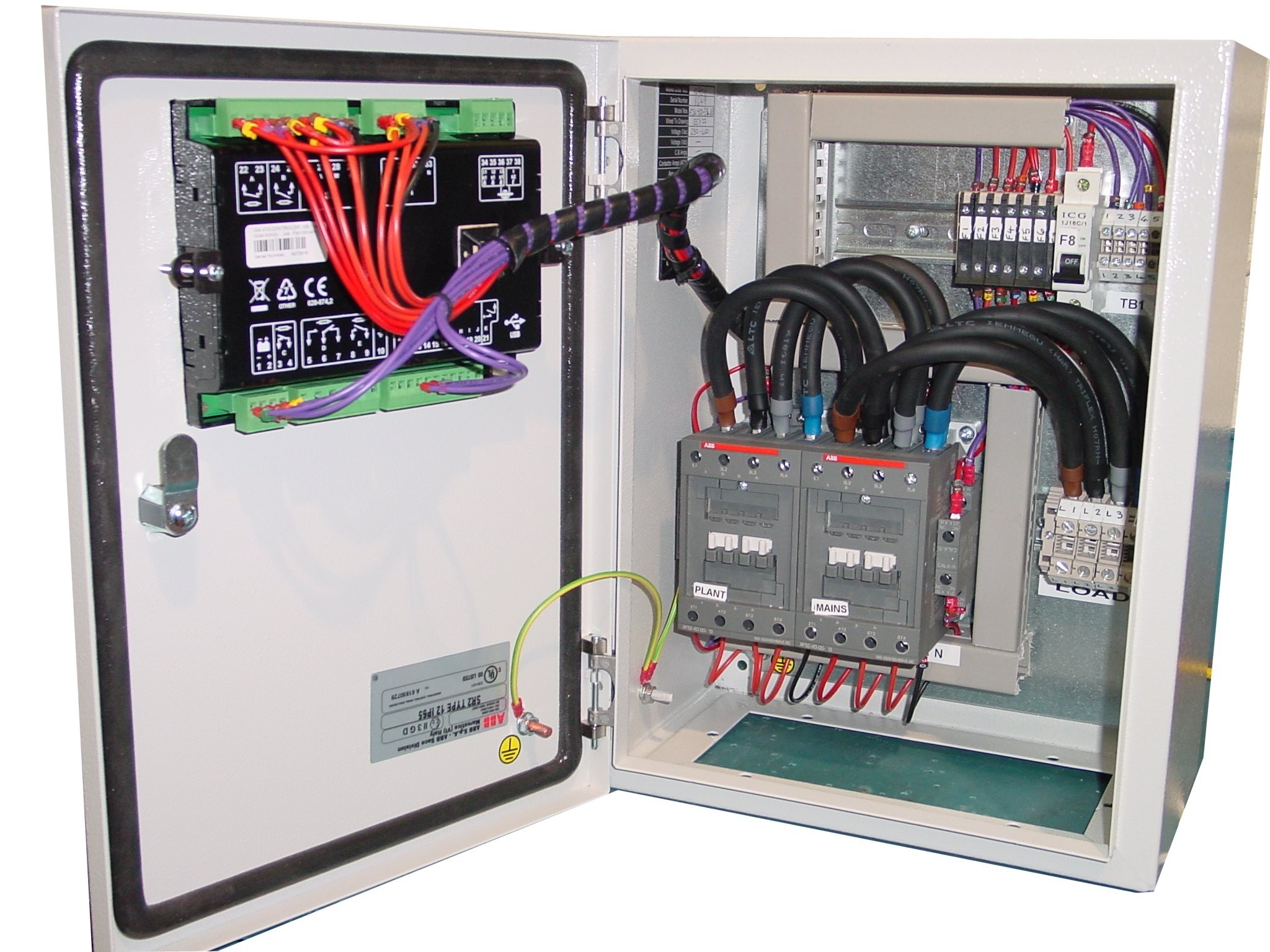 60a Automatic Transfer Switch Dse334 3 Phase 400v With Abb