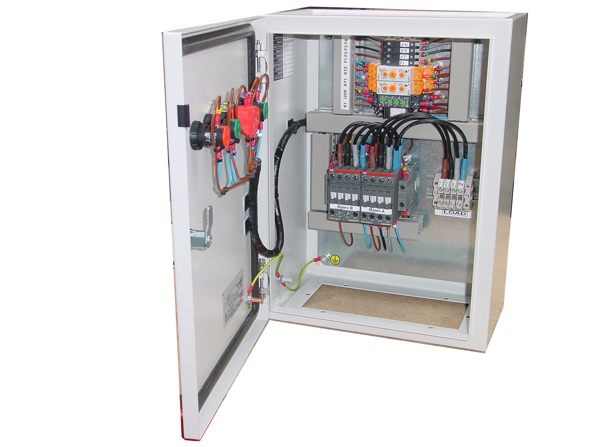 45a Automatic Transfer Switch Uvr 3 Phase 400v With Abb