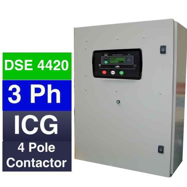3 phase automatic mains fail panels for switching power between ...