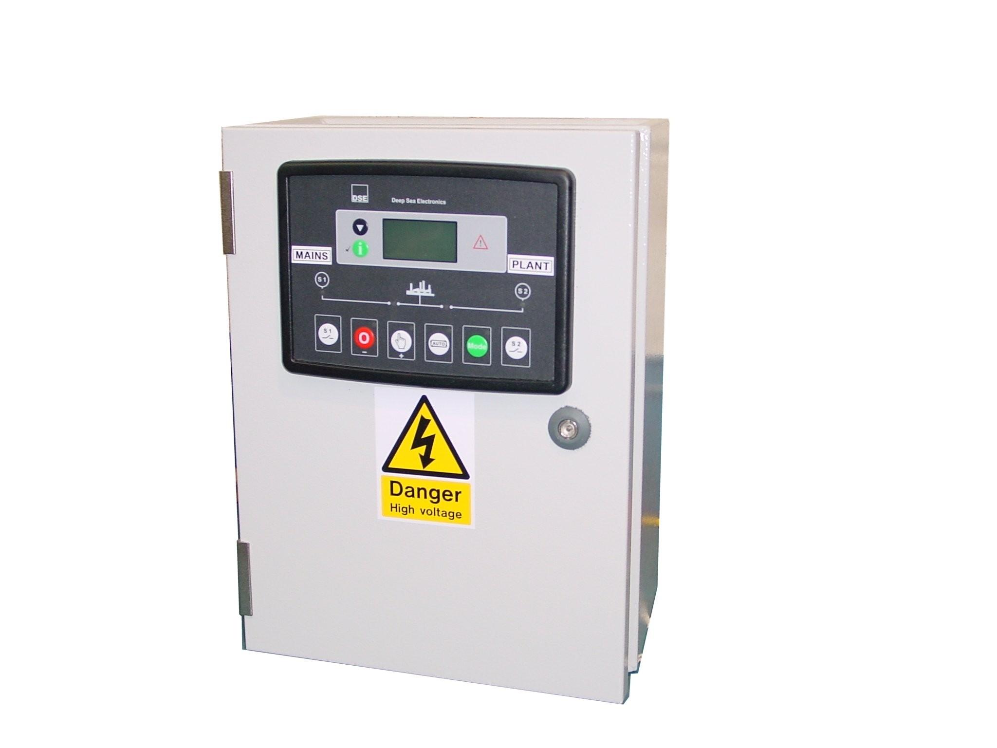 125A ATS 3 Phase 400V, DSE334, ABB Contactors