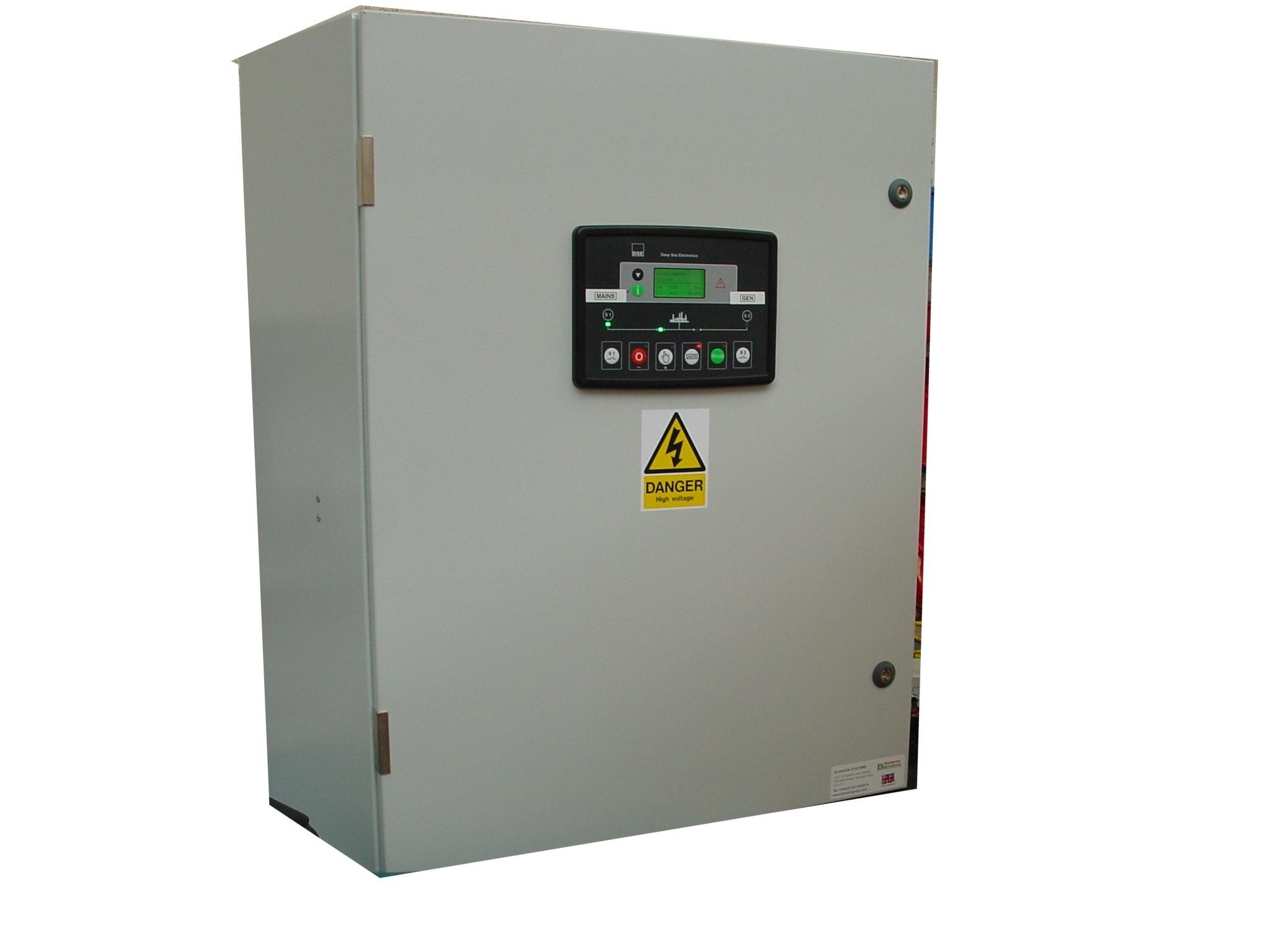 160A ATS 3 Phase 400V, DSE334, ABB Contactors