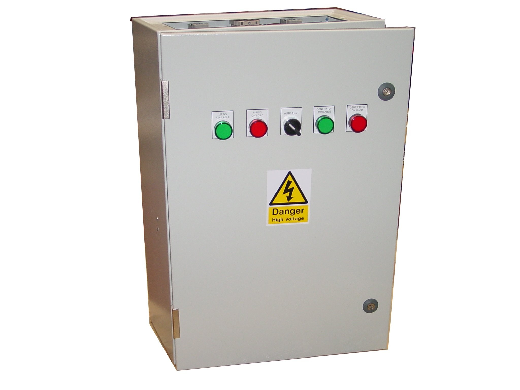 250A ATS Single Phase 230V, UVR Controlled, ABB Contactors
