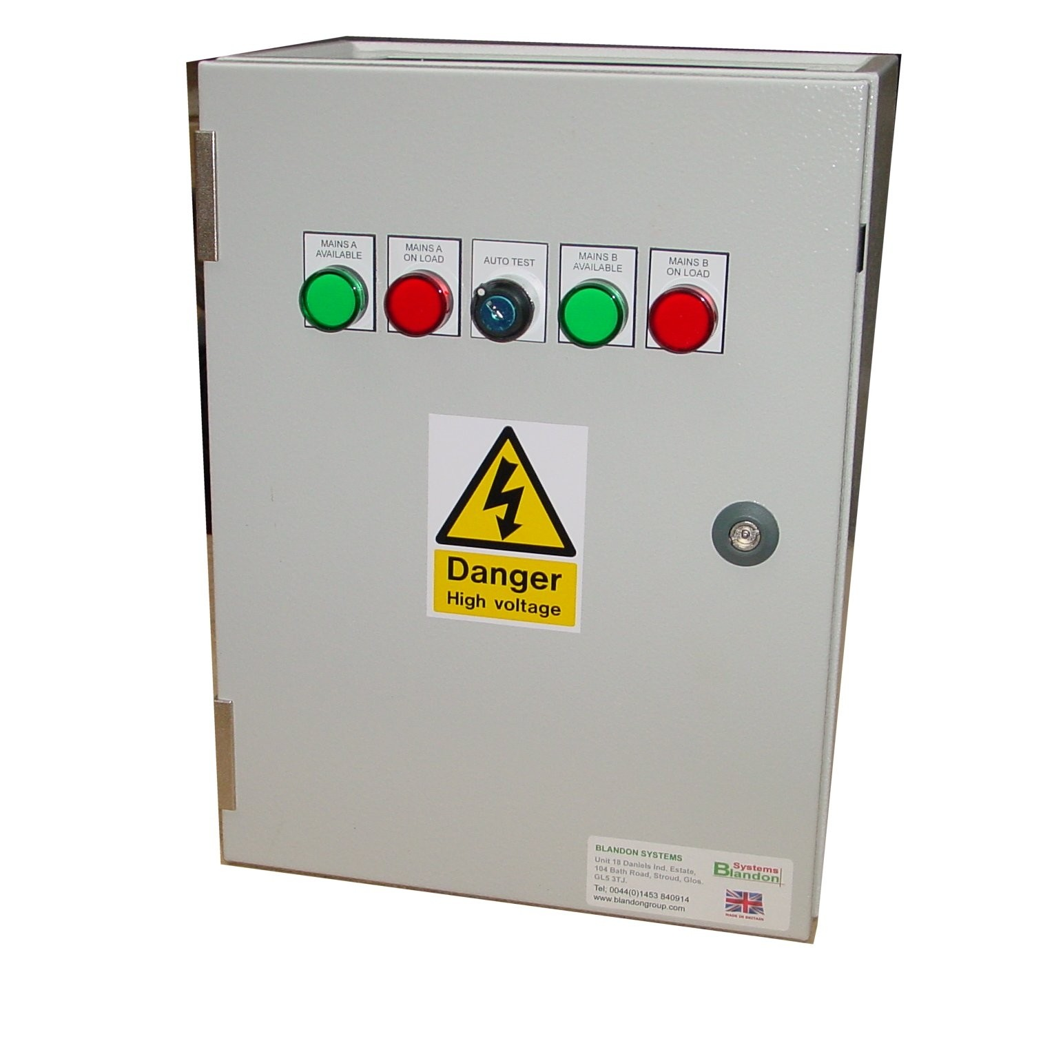 125A ATS 3 Phase Mains-Mains 400V, UVR Controlled, ICG Contactors