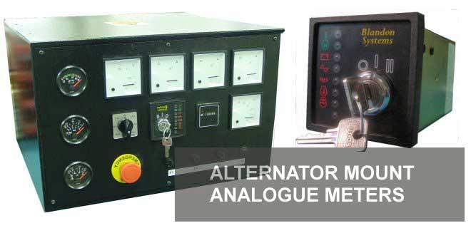 alternator mount analogue meters