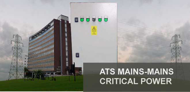 ATS Mains - Mains Critical Power